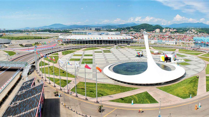 Автомобильное путешествие в Олимпийский парк - экскурсии