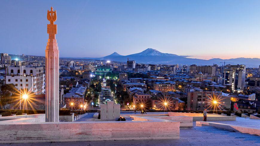 Огни ночного Еревана - экскурсии