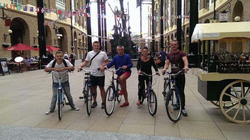 Велосипедный тур по Лондону - экскурсии