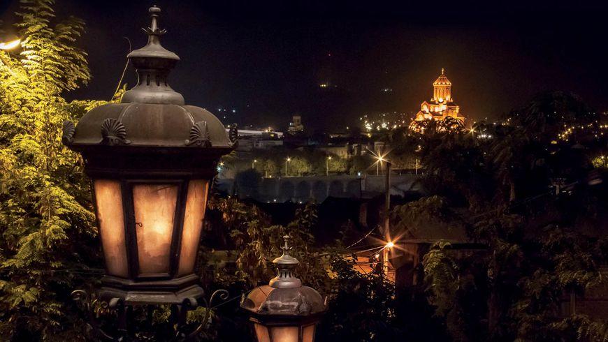 Тбилиси — магия вечернего города - экскурсии