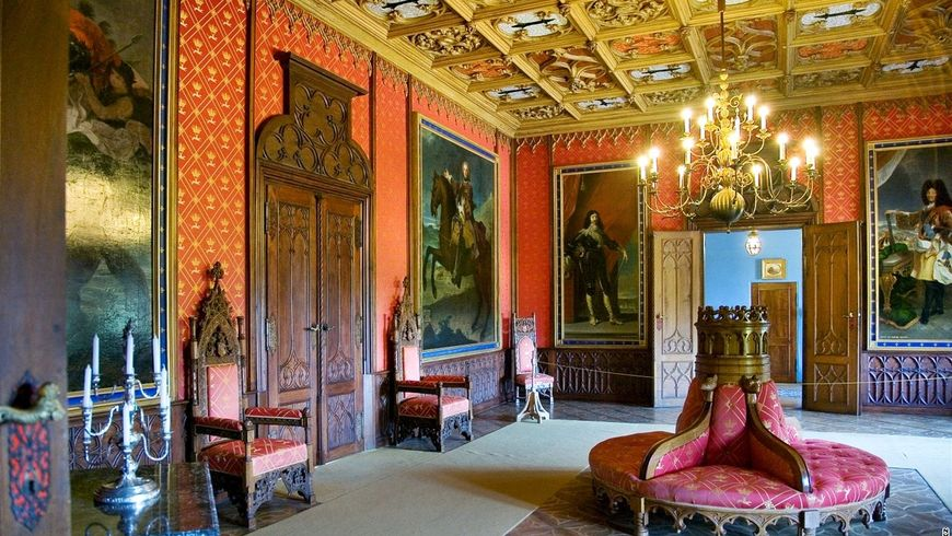Замок Сихров и богемские гранаты — национальное достояние Чехии - экскурсии