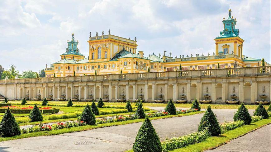 Дворцовая Варшава - экскурсии