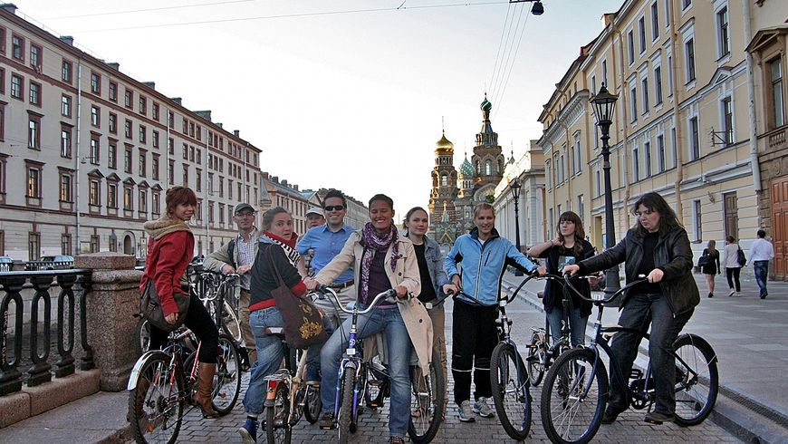 Вело-экскурсия «Весь Петербург за 2 часа» - экскурсии