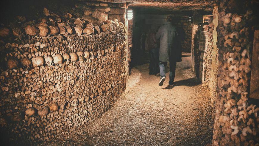 Приключения в парижских катакомбах - экскурсии