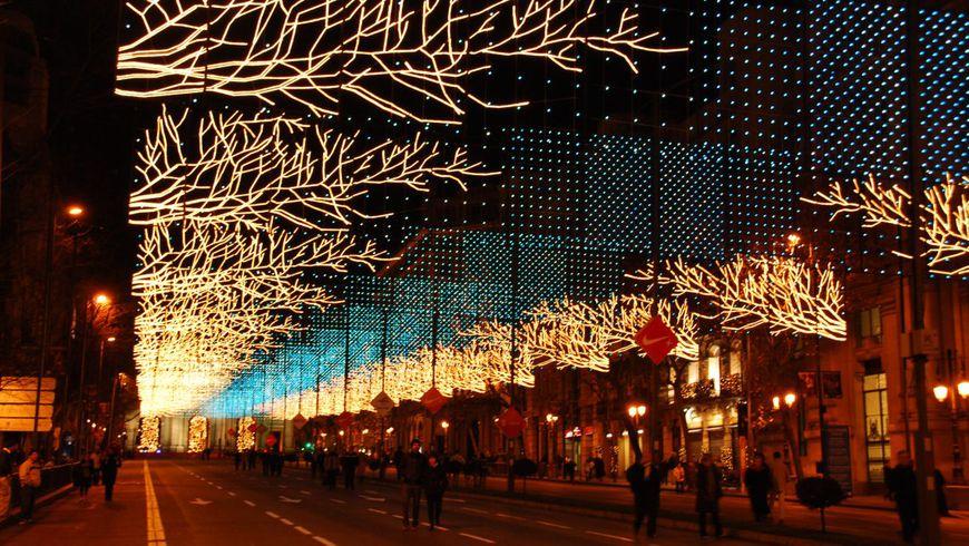 Рождественские декорации Мадрида - экскурсии