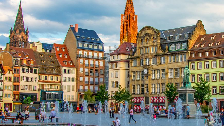 Страсбург — самый оживлённый перекрёсток Европы - экскурсии
