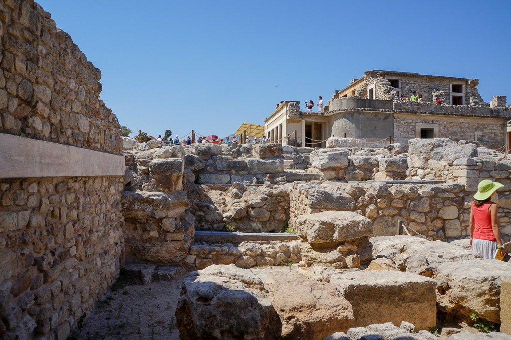 лабиринт минотавра на Крите