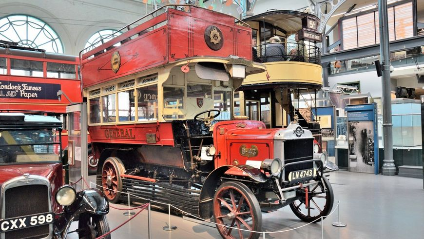 Лондон от омнибуса до автобуса - экскурсии