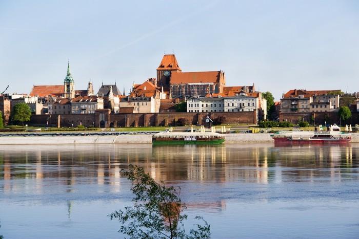 Город Висла в Польше