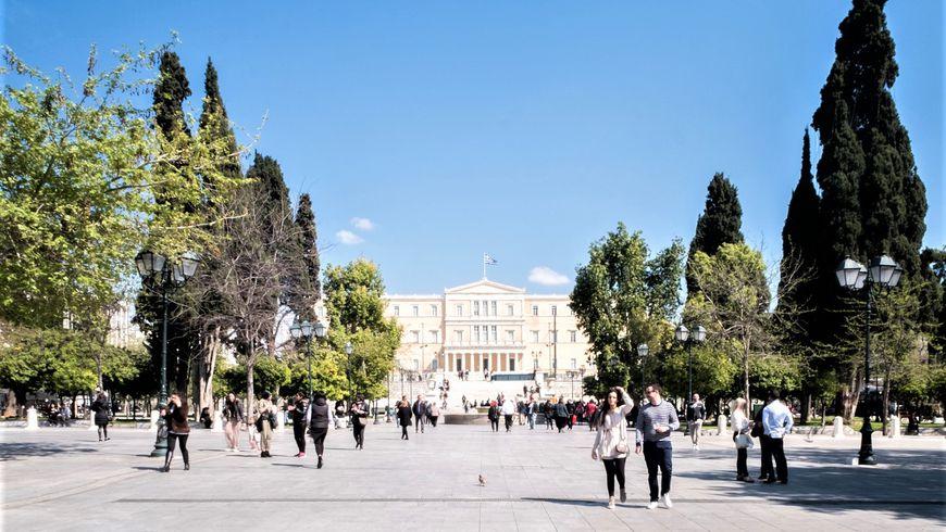 Афинские улицы и их имена - экскурсии
