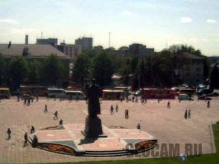 Веб-камера на центральной площади в Ровно