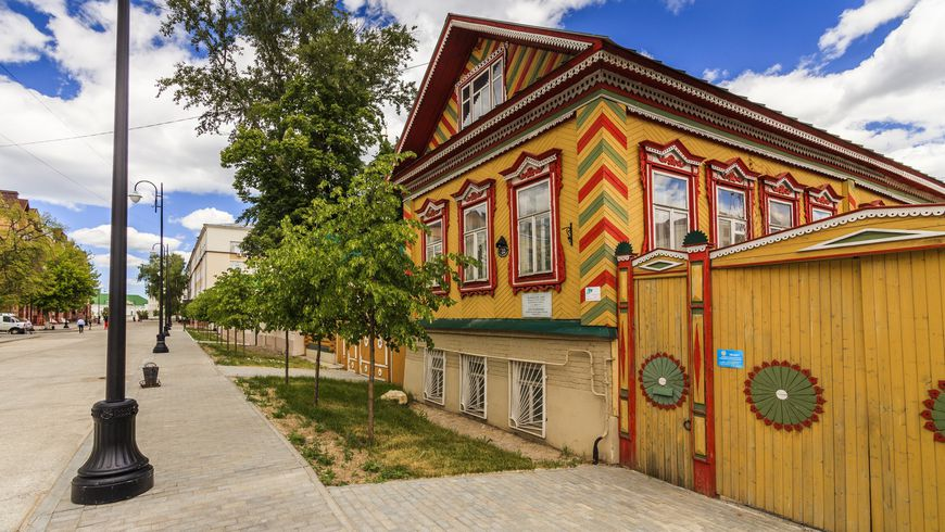 Старо-Татарская слобода итайны озера Кабан - экскурсии
