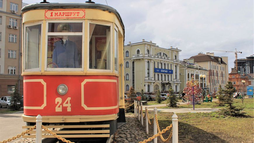 По Казани на трамвае - экскурсии