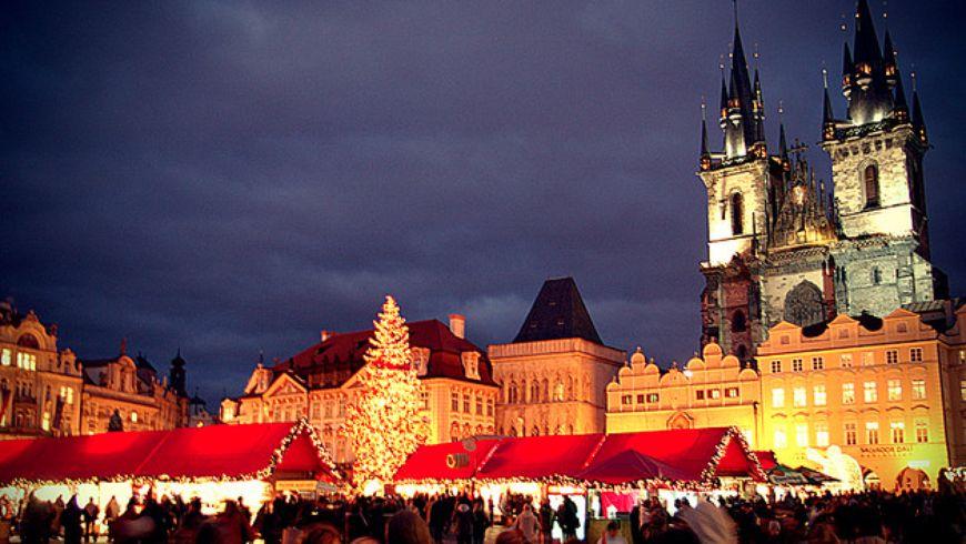 Огни рождественской Праги - экскурсии
