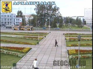 Веб-камера Архангельска
