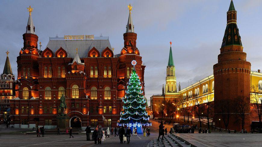 Огни новогодней столицы - экскурсии