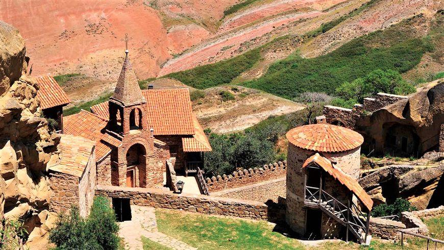 Давид-Гареджи: монастыри