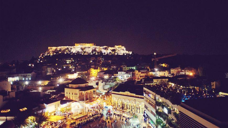 Прогулка по афинским крышам - экскурсии