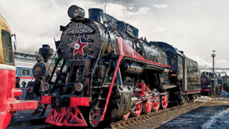 Старые паровозы и вагоны рассказывают… - экскурсии