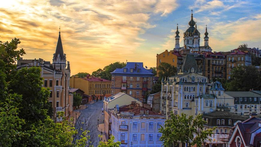Такой разный Киев: обзорная экскурсия - экскурсии