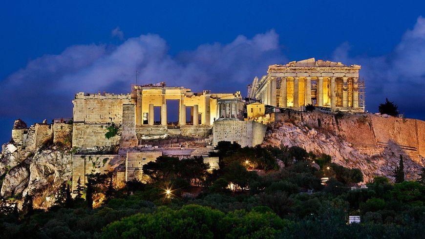 Закат над Афинами и вечерняя Плака - экскурсии