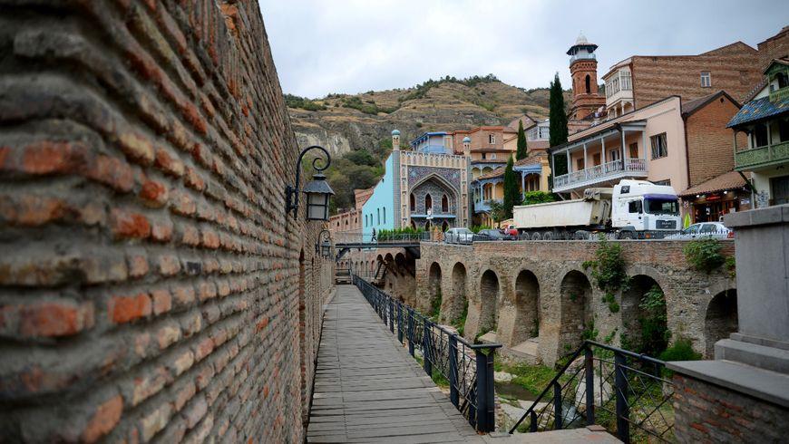 Тбилиси: прогулка поводе