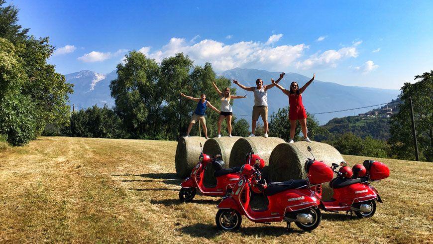 """День над Гардой — поездка на скутере вокруг итальянского """"фьорда"""" - экскурсии"""