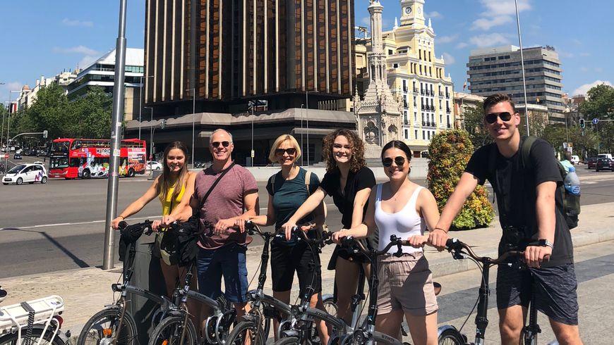 Велопрогулка по Мадриду: влюбиться в город за три часа - экскурсии