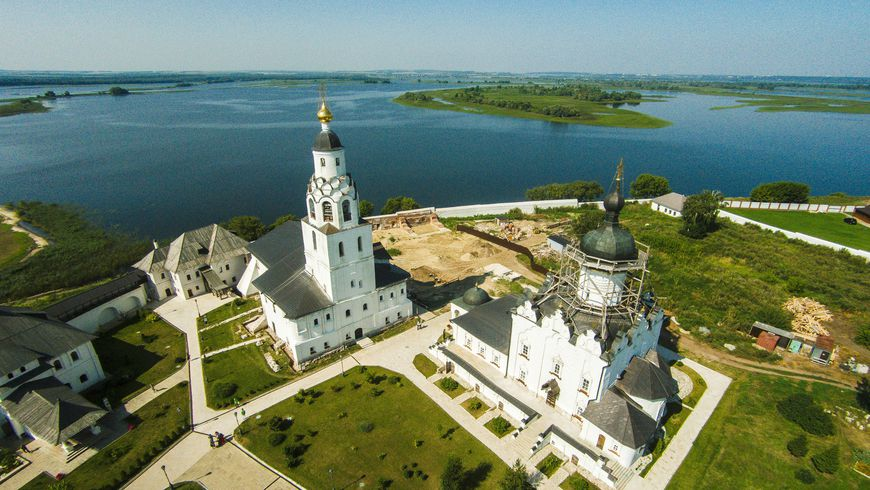 Сказочный Свияжск и Храм всех религий - экскурсии