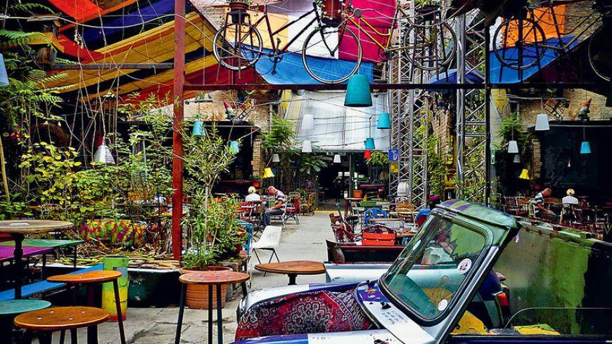 Еврейский квартал Будапешта: новая жизнь среди старых камней - экскурсии