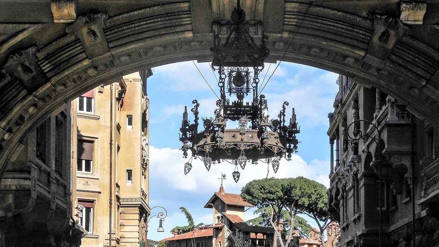 Масонский либерти и буржуазный фашизм: это тоже Рим - экскурсии
