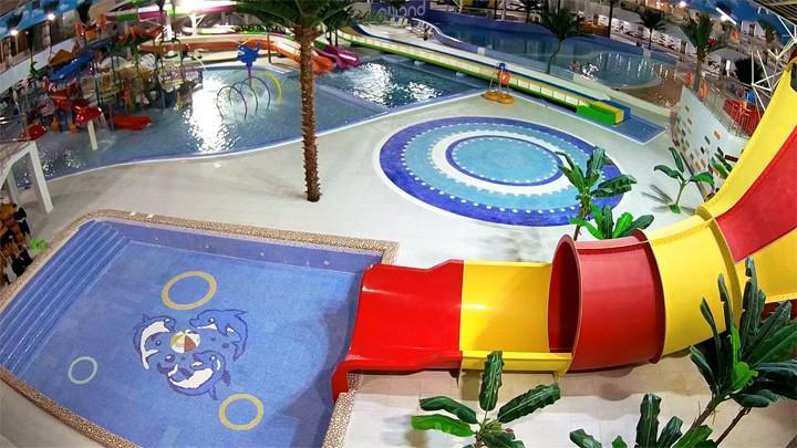 Веб-камера центра семейного отдыха Ailand: аквапарк