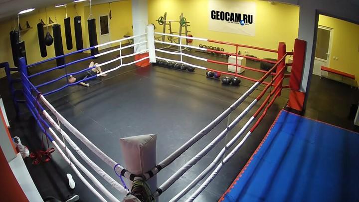 Веб-камера у ринга СК Академия бокса Санкт-Петербург