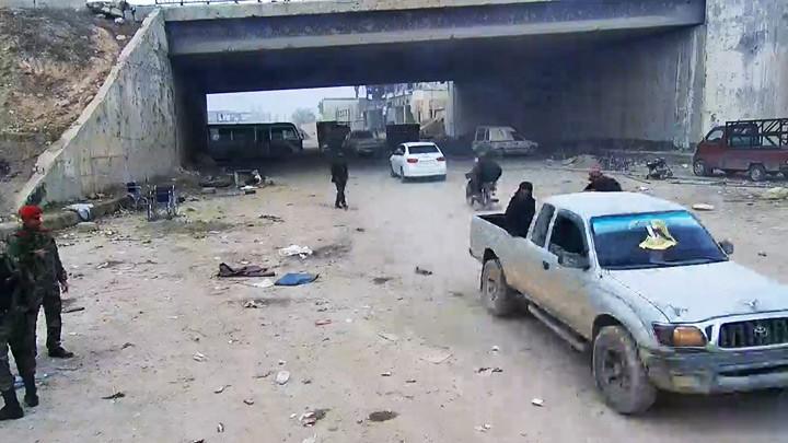 Веб-камера в Алеппо (район Рамуси)