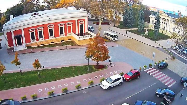 Веб-камера у Аллеи Звёзд в Одессе