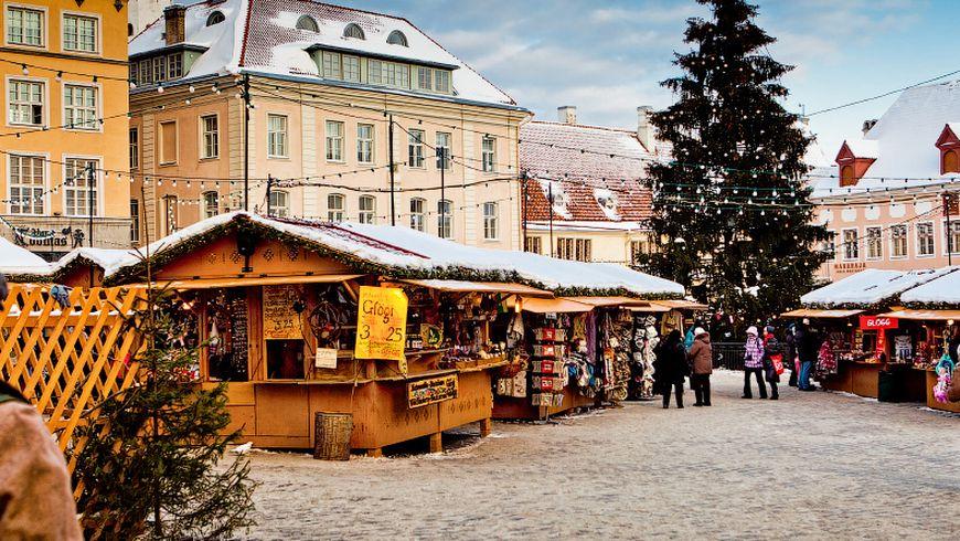 Рождественский Таллин— прогулка поСтарому городу - экскурсии