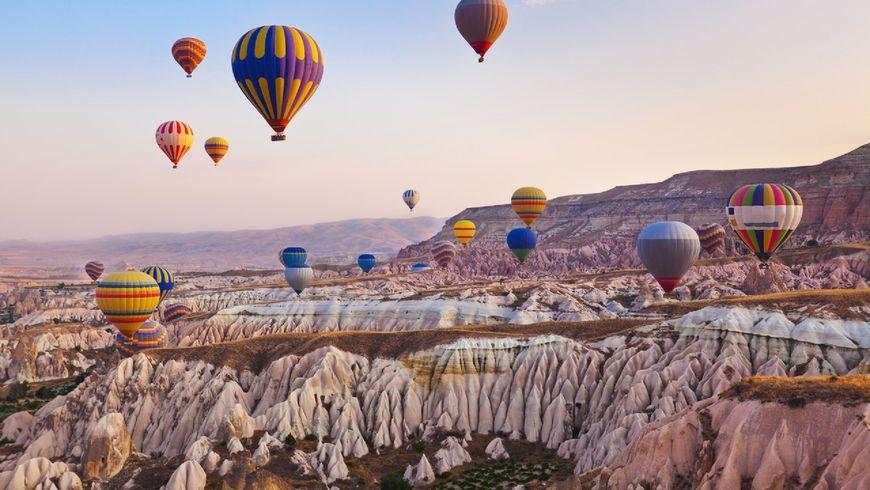 Вся Каппадокия с высоты полета на воздушном шаре - экскурсии