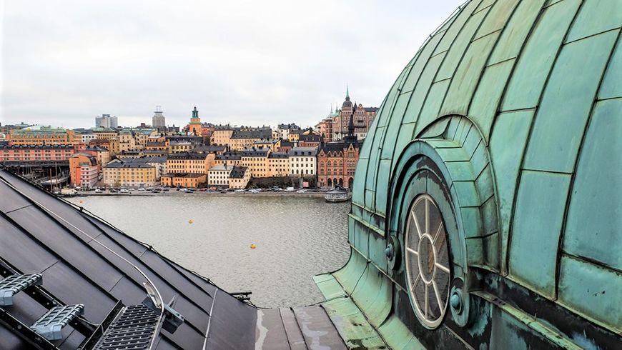 Прогулка для двоих по крышам Стокгольма - экскурсии