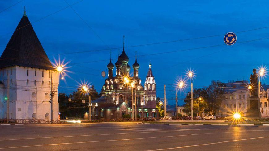 Вечерний Ярославль - экскурсии