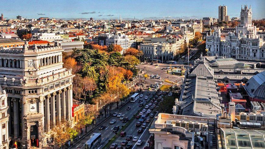 Четыре Мадрида иодна улица - экскурсии