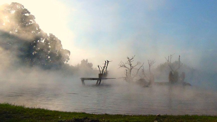 Природные термальные источники в селе Кындыг - экскурсии