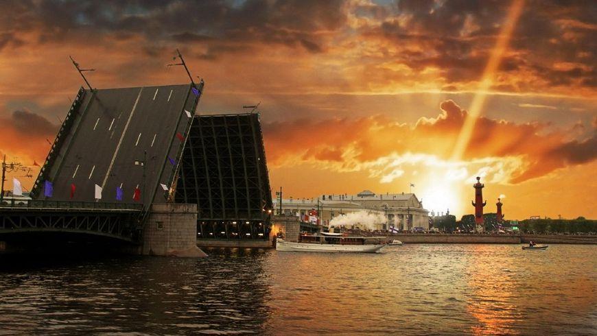 Разводные мосты глазами петербуржца - экскурсии