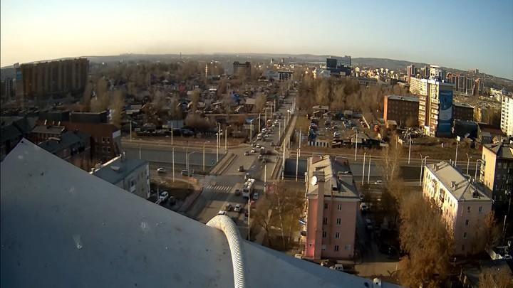 Веб-камера на ул. Байкальская, 105А
