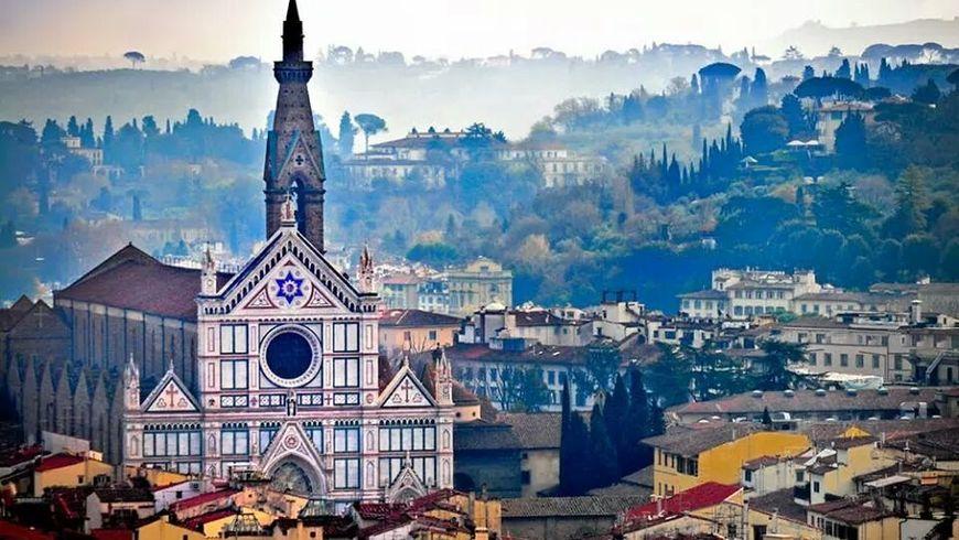 История Флоренции вбазилике Санта-Кроче - экскурсии