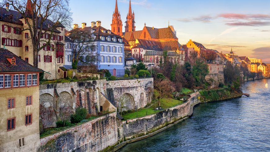 Базель — город на границе Швейцарии