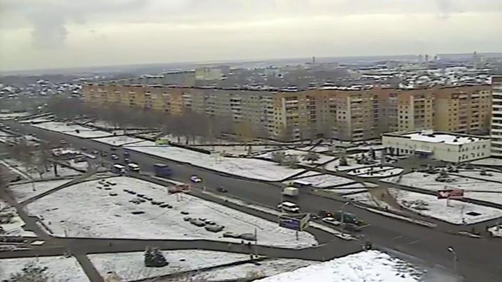Онлайн веб-камера на улице Гагарина в Борисове