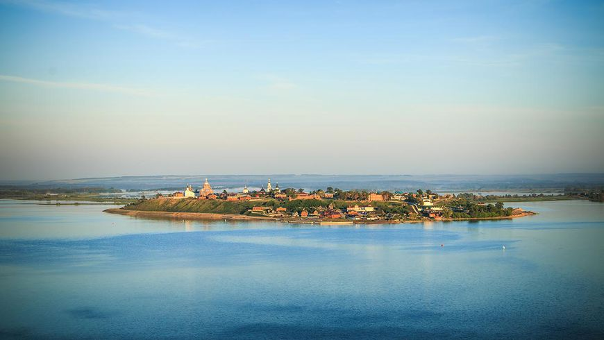 Речная экскурсия в остров-град Свияжск - экскурсии