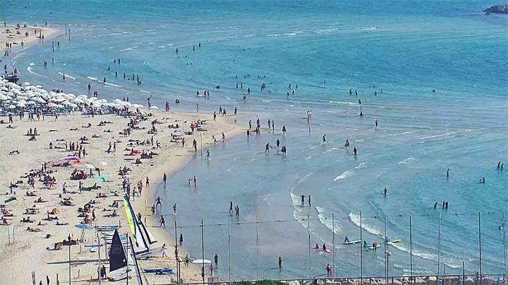 Поворотная веб-камера отеля Карлтон Тель-Авив