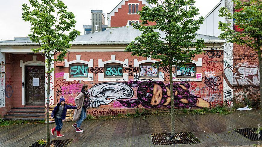 Погружение в уличное искусство Ставангера - экскурсии