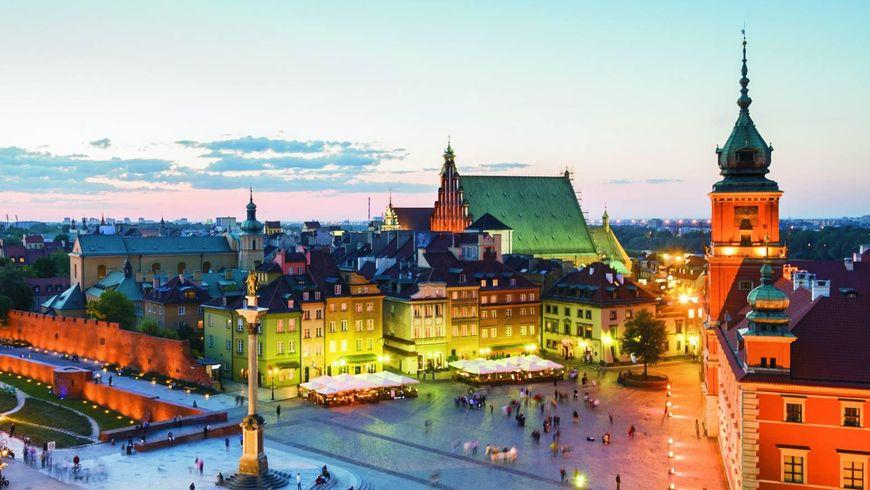 По улицам прекрасной Варшавы - экскурсии